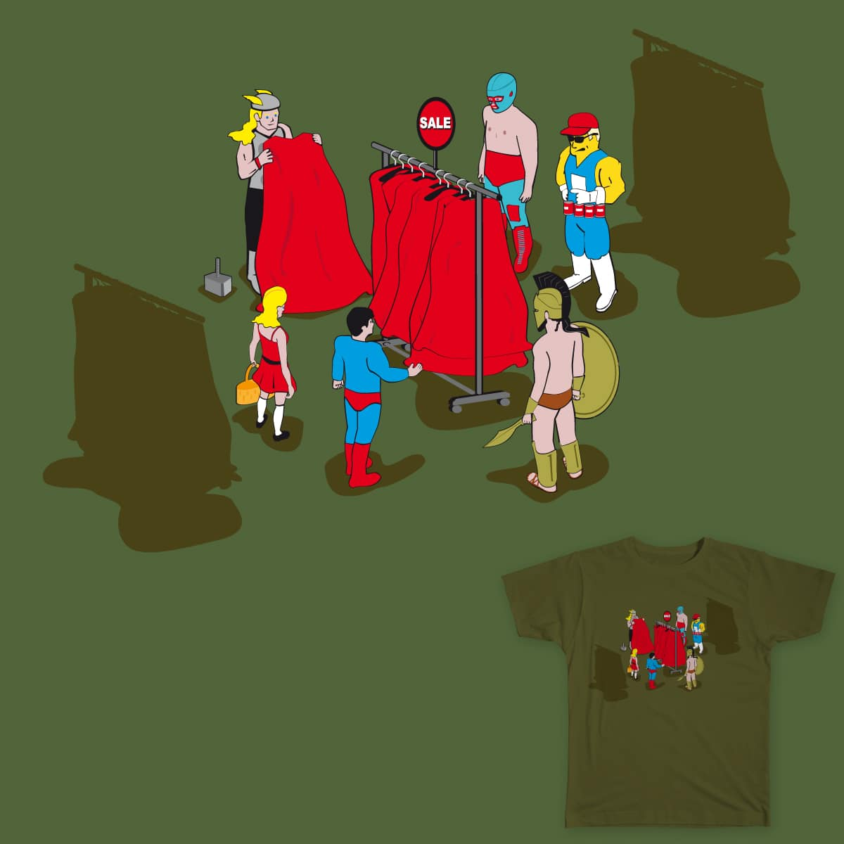Super Offer Supermarket by SERONORES on Threadless