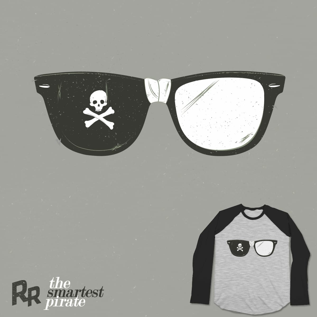 the smartest pirate by Ryder on Threadless