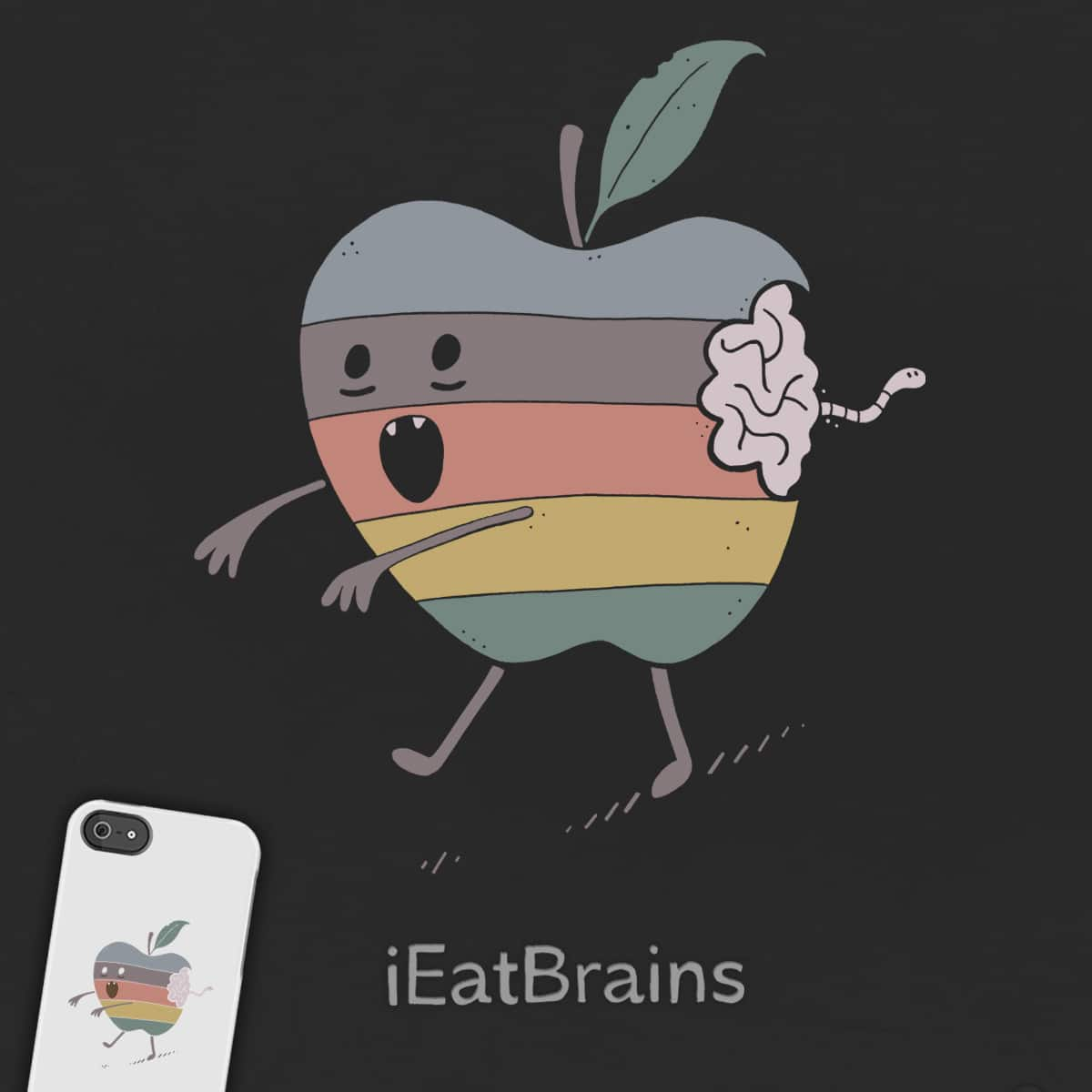 iEatBrains by ThePaperCrane on Threadless