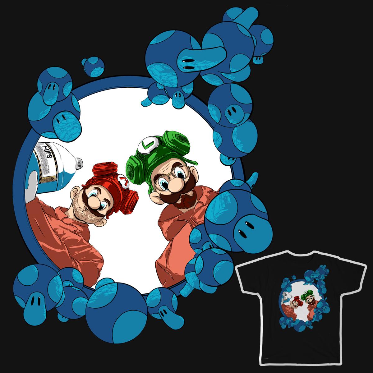 Super Heisenberg Bros by JABillustration on Threadless