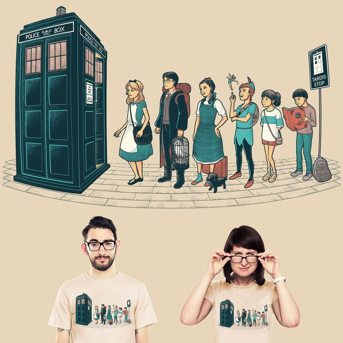 The Doctor's Express by wagnogueira on Threadless