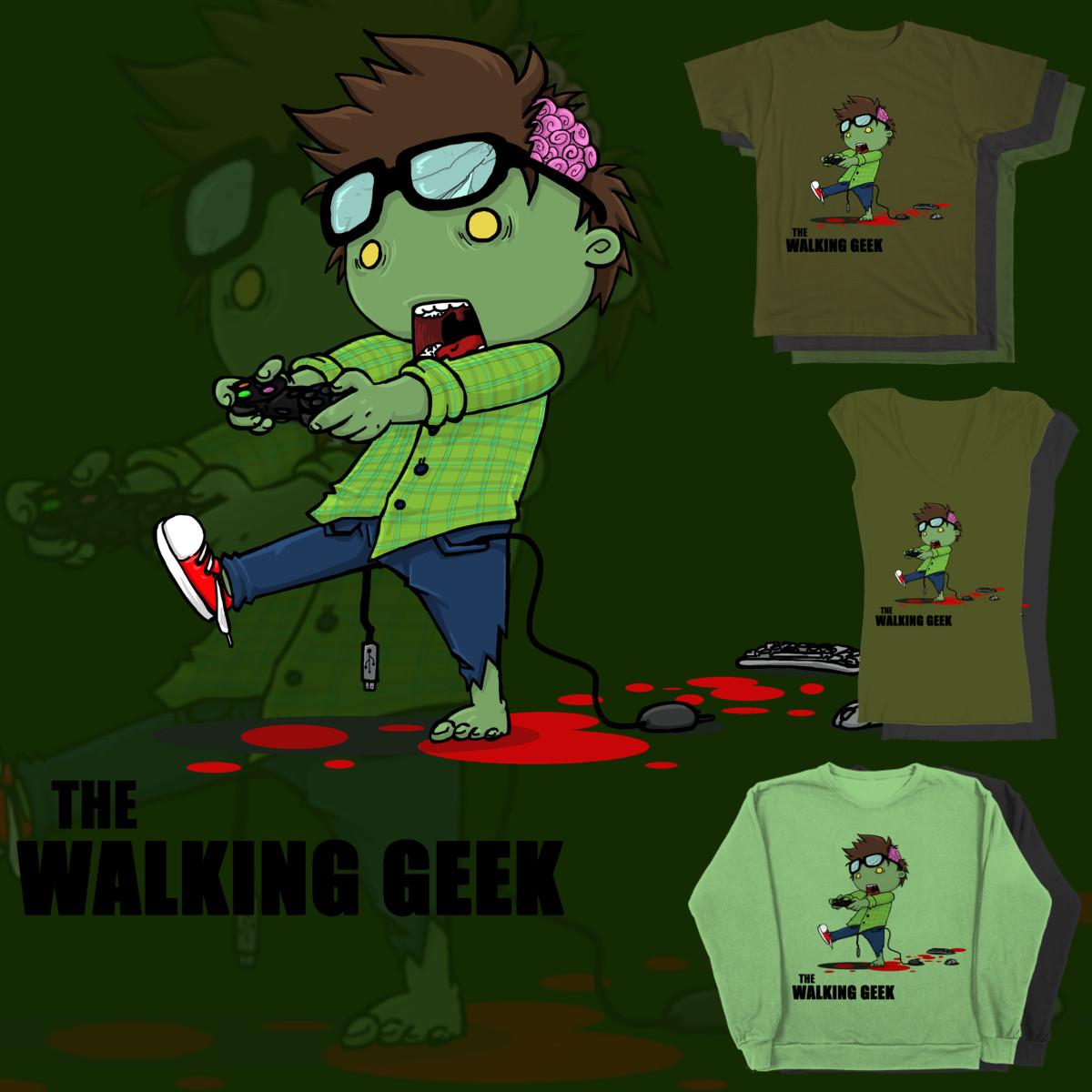 The Walking Geek by DandyAnge on Threadless