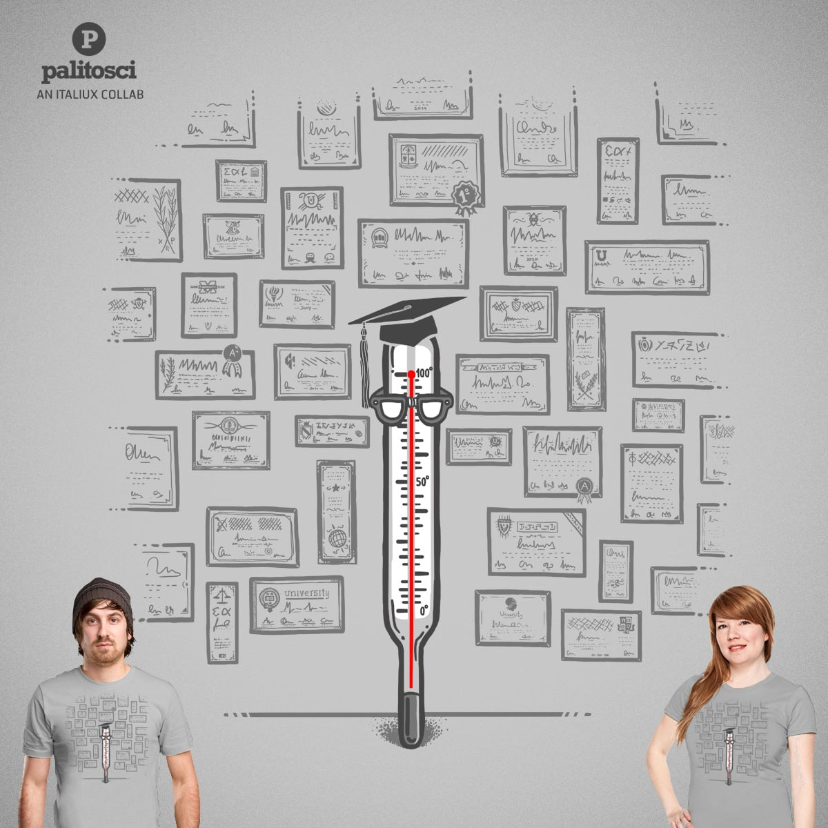 So many degrees by palitosci and italiux on Threadless
