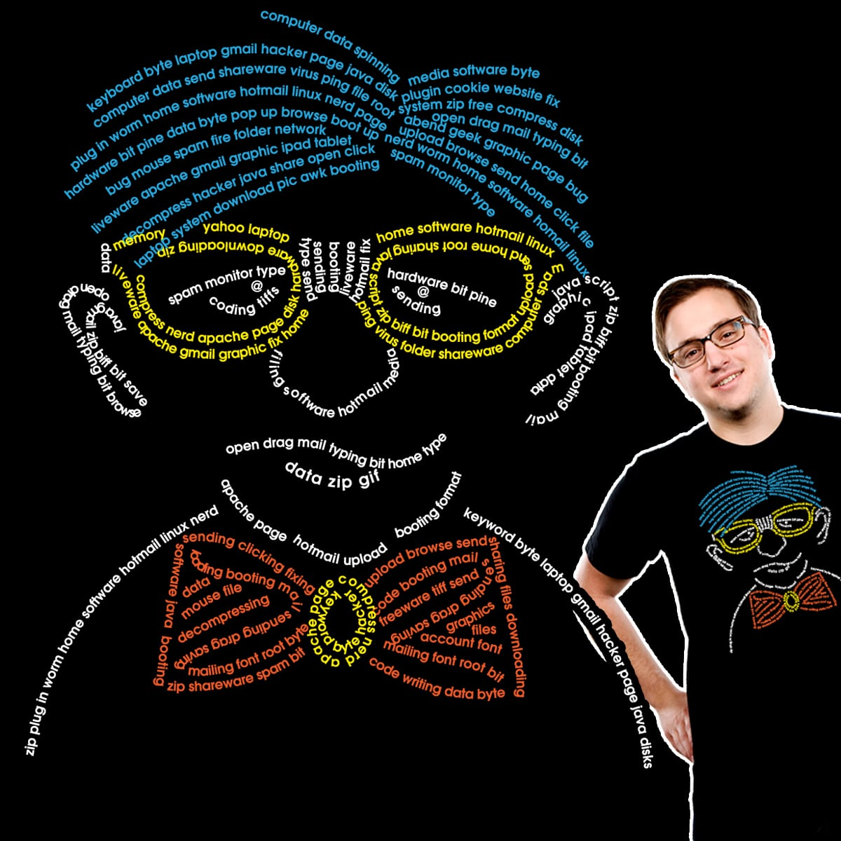OLD GEEKS ARE CHIC by Twmom on Threadless