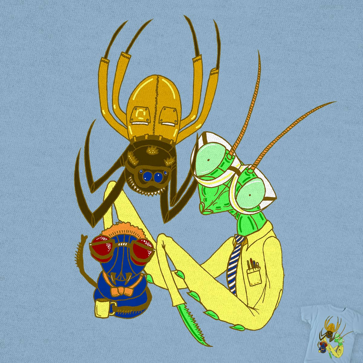 Tech Bugs by SteveOramA on Threadless