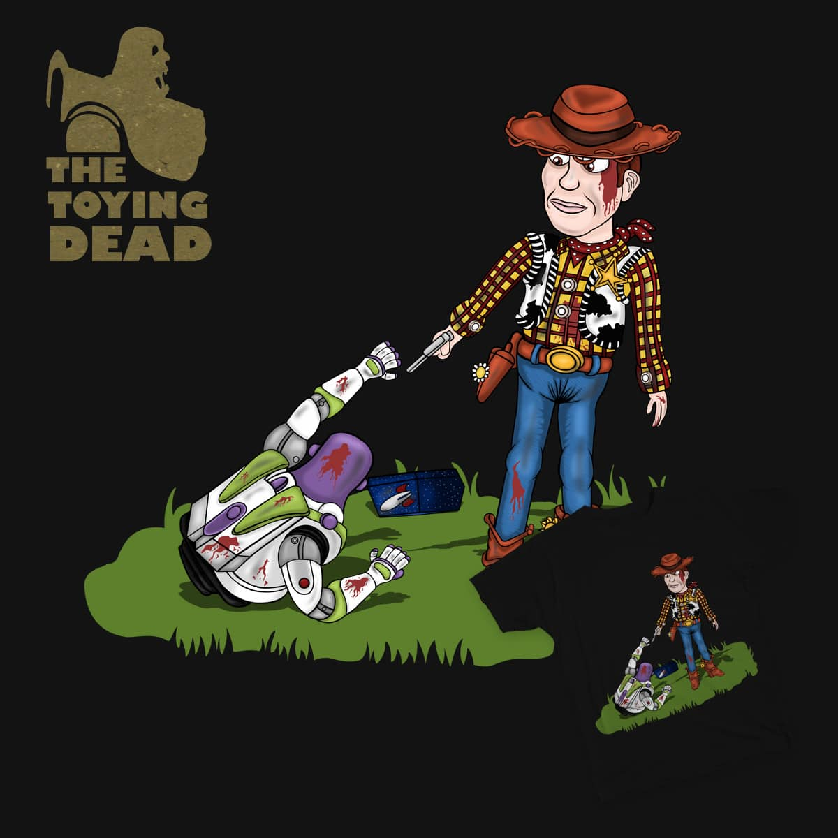 The Toying Dead by Pancake_Panda on Threadless