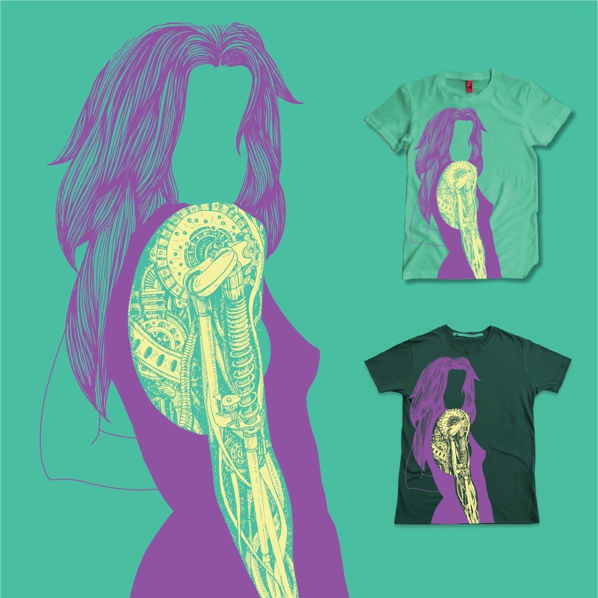 Tech is sexy by k-sha on Threadless
