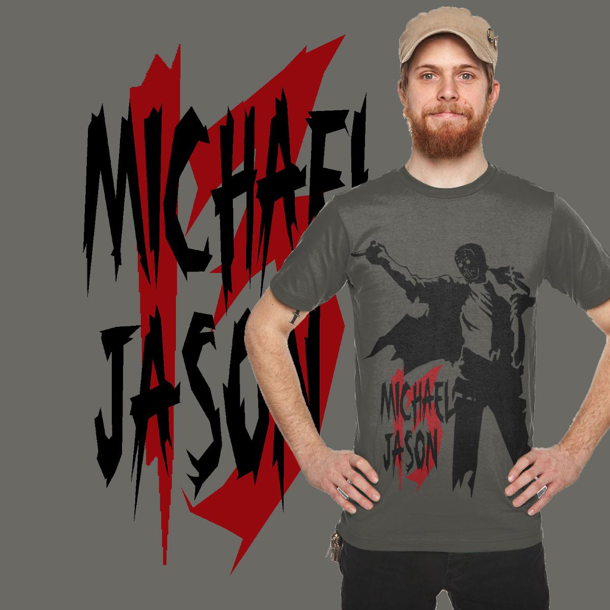 Michael Jason  by graditio on Threadless