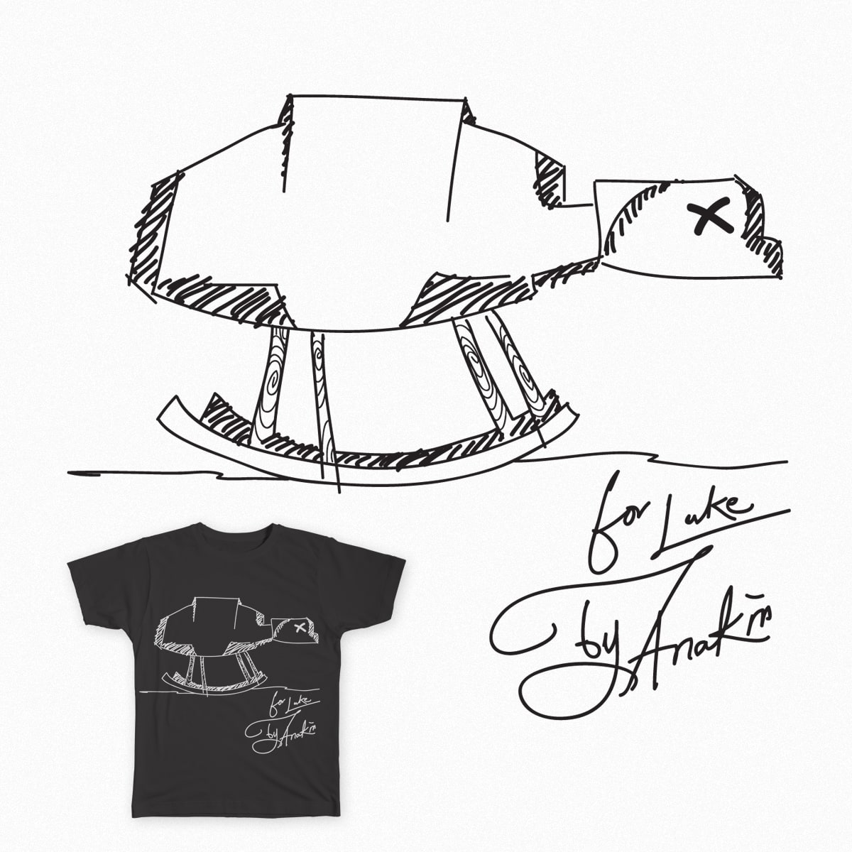 Rocking AT-AT Walker by Sulio on Threadless