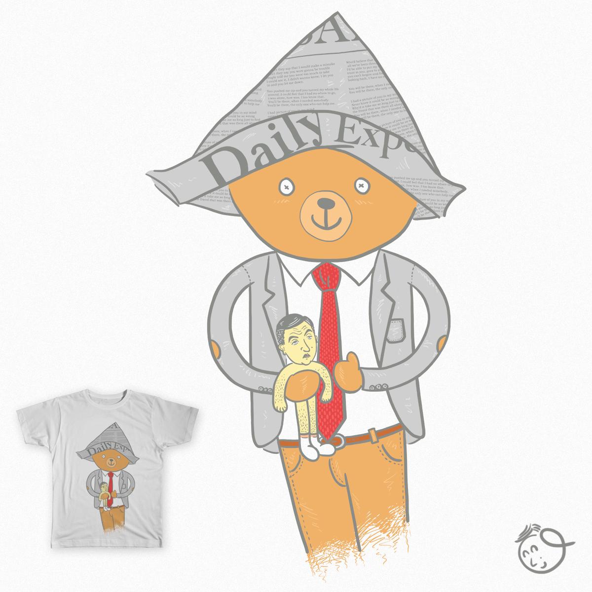 Mr. Bear by osano on Threadless