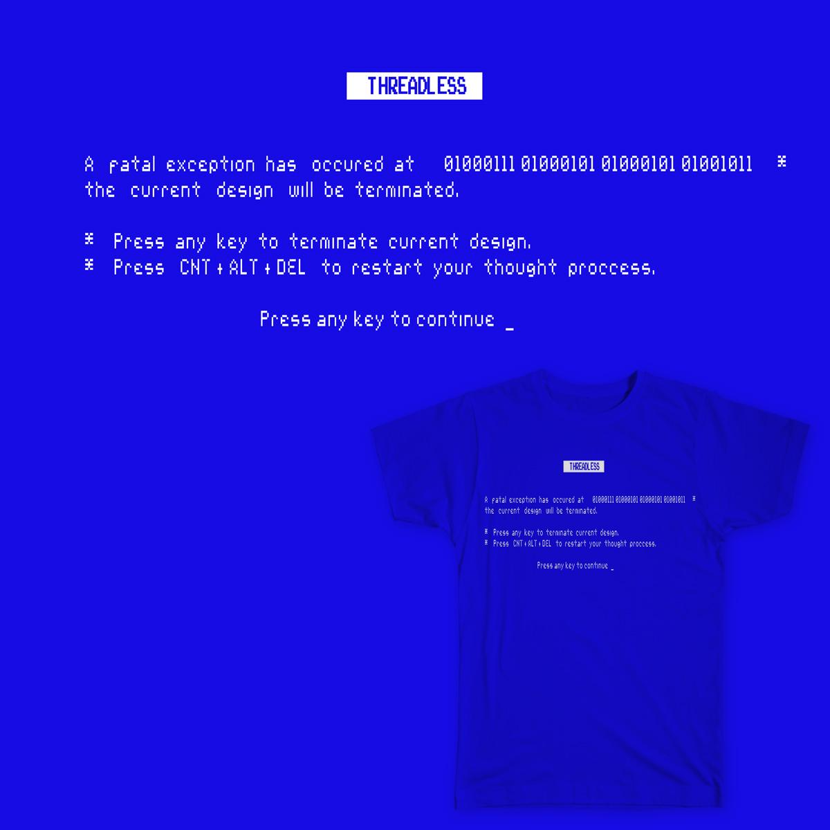 IM BLUE by Nossotros on Threadless