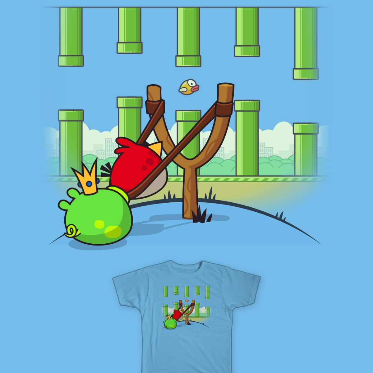 Team Work by FRICKINAWESOME and ALEJANDR0ID on Threadless