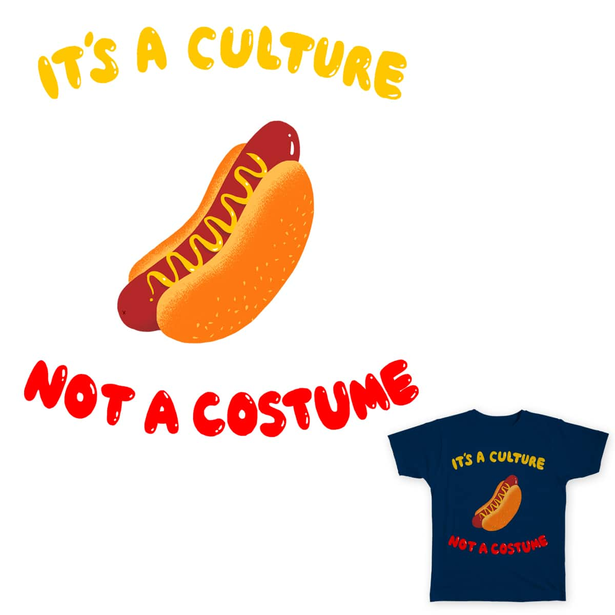 it's hotdogs by mike bautista on Threadless