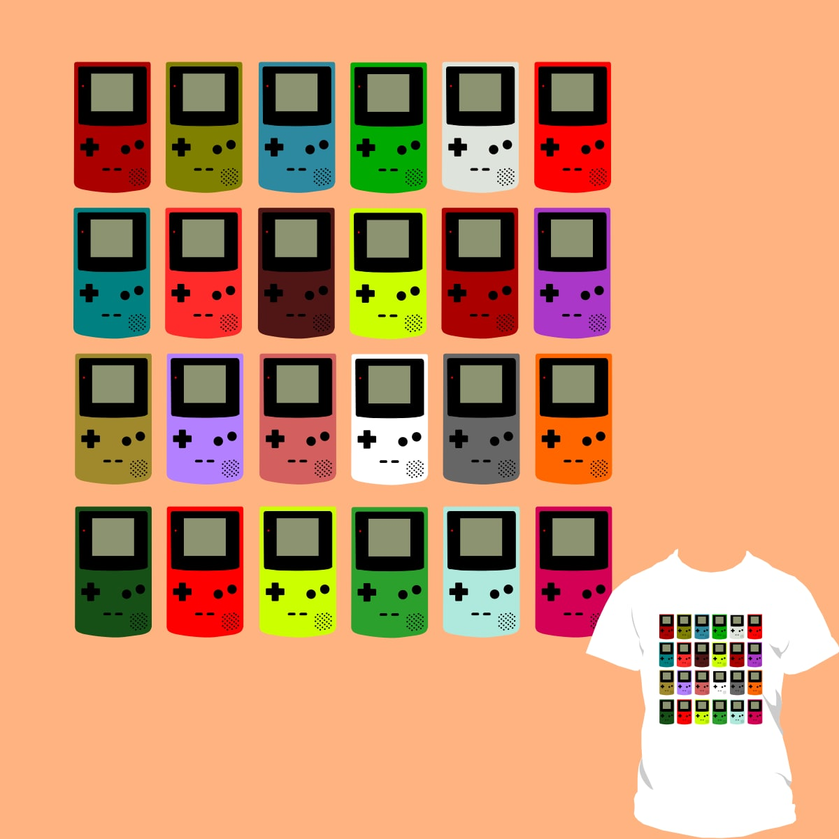 Game boy colore show by DizesVictor on Threadless