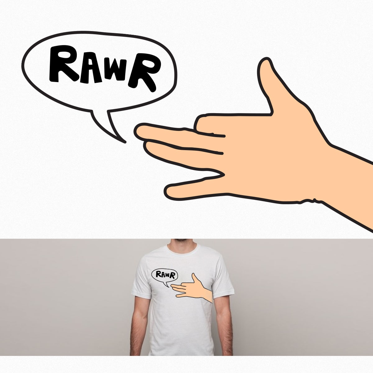 Rawr by sknny on Threadless