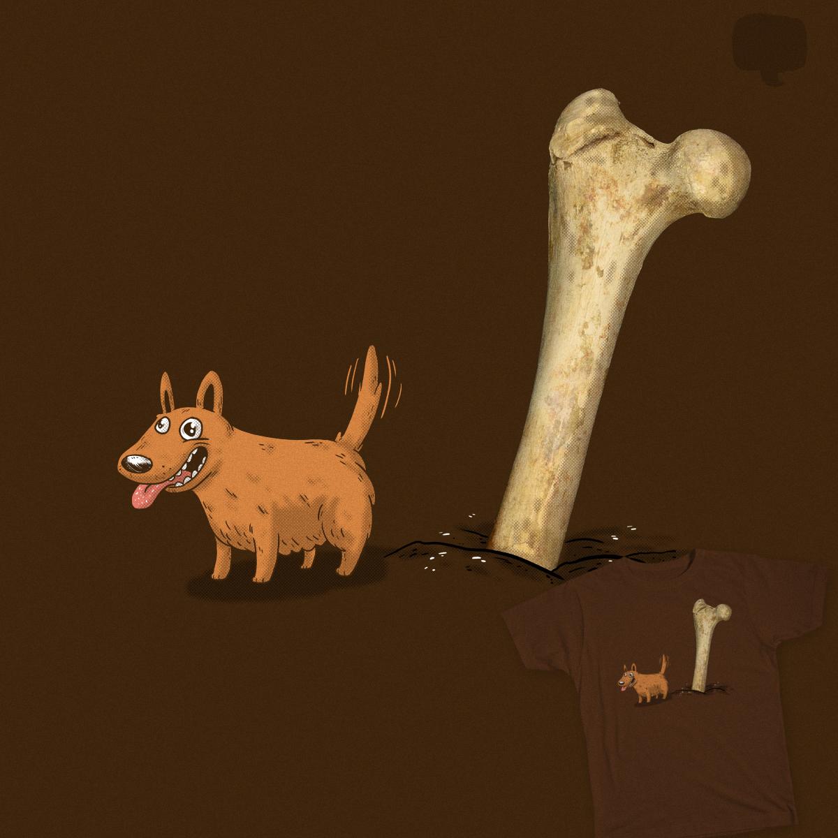 Every Dog Gets a Bone by lxromero on Threadless