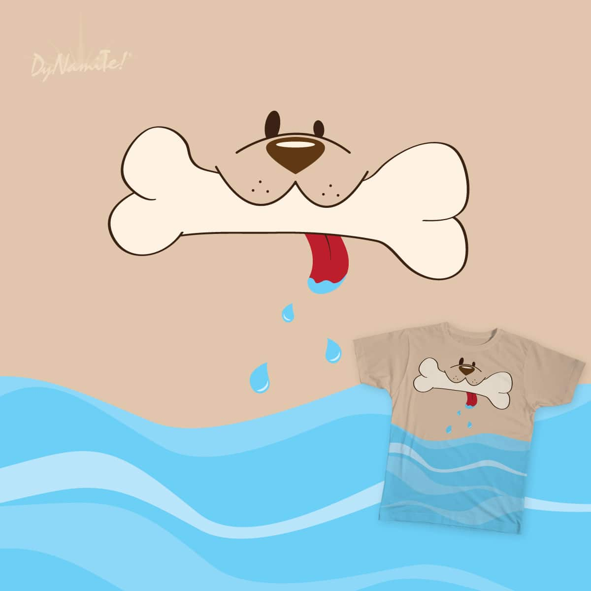 My Slobberful Dog by thedynasmiles on Threadless