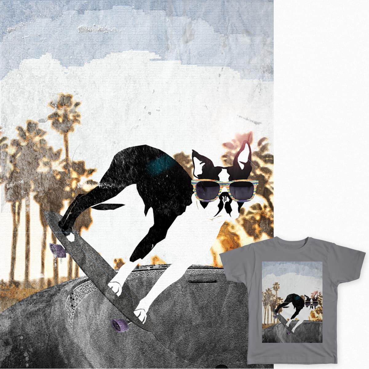 Terrier Shredder by rizqa.samaai on Threadless