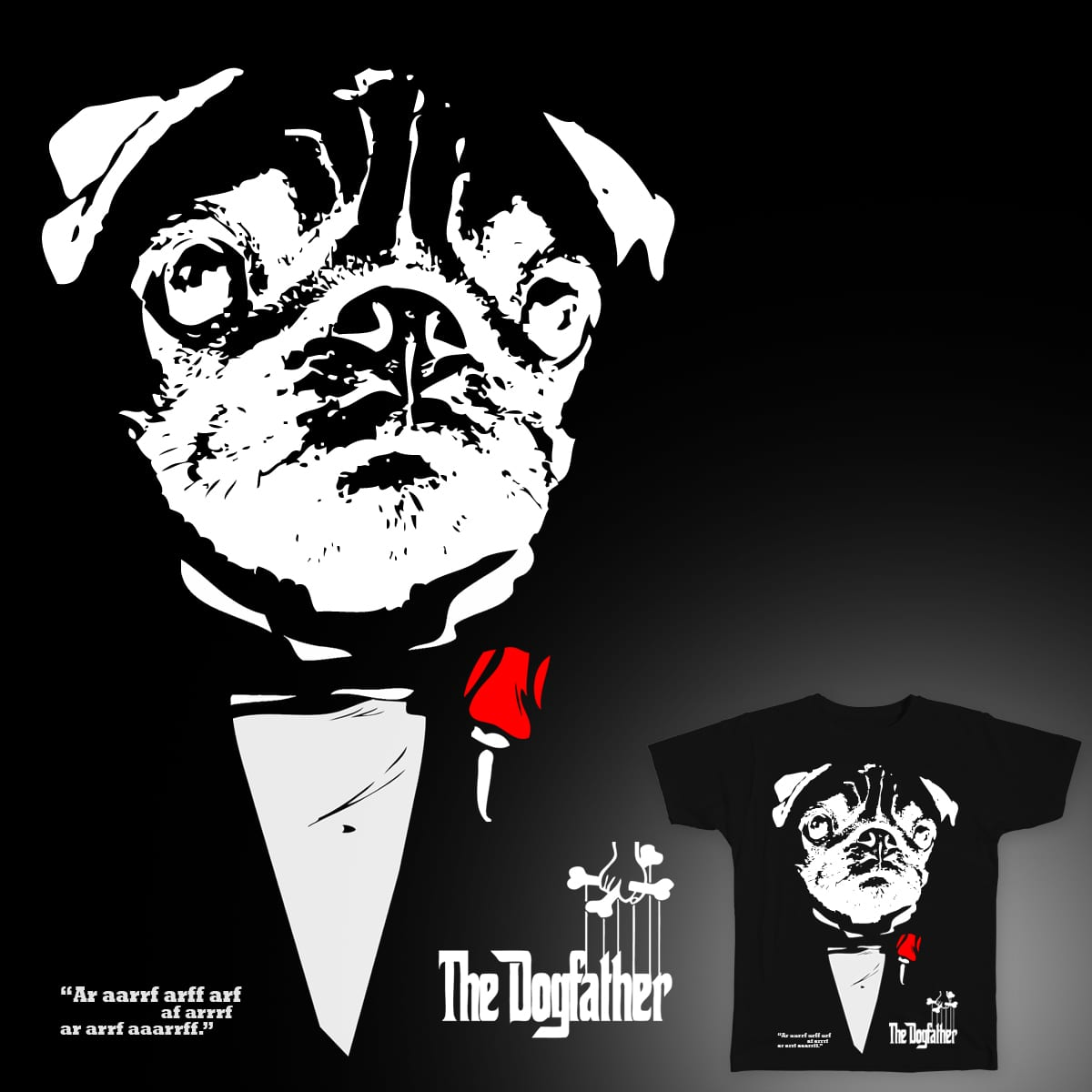 dogfather by guiven on Threadless