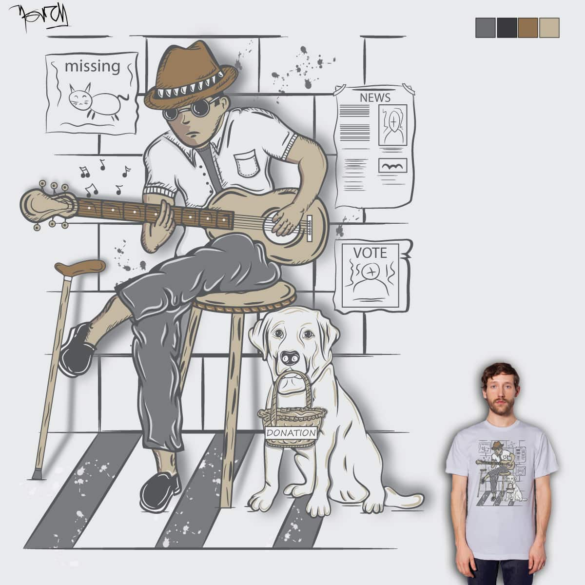 Man's Best Friend by je14 on Threadless