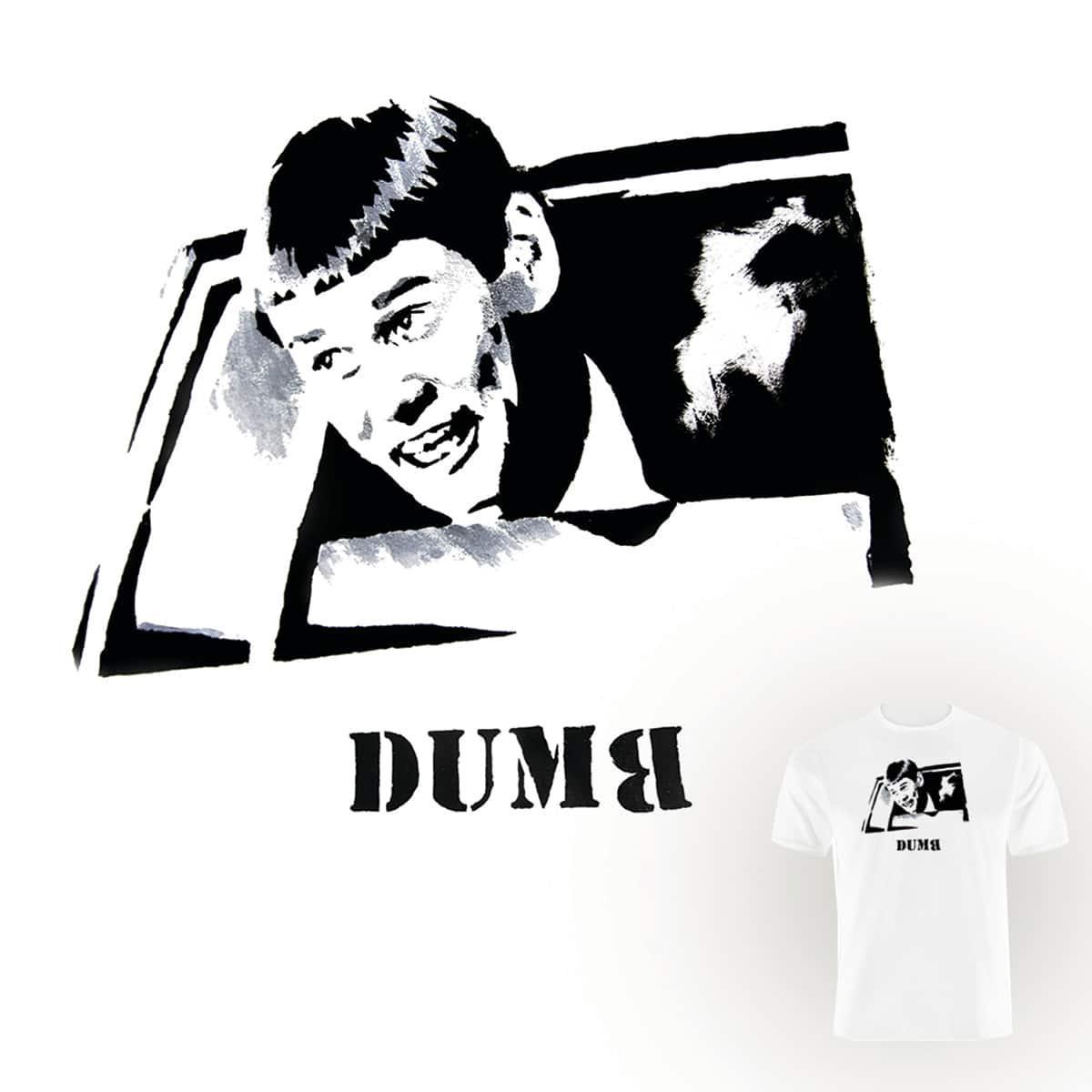 Dumb by Neematoad and CHAMPAKALI on Threadless