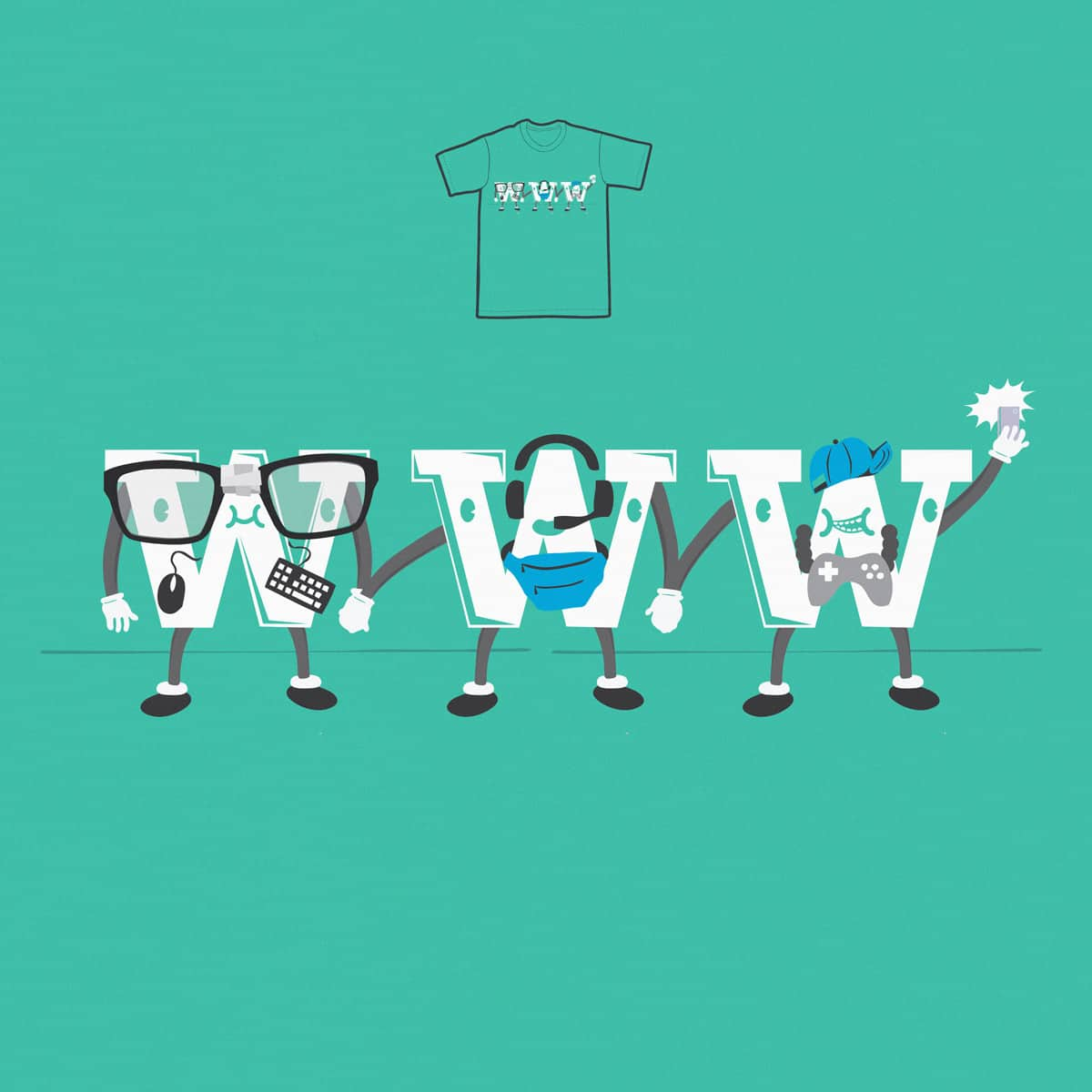 Most Famous Triplets by Skate_e1 on Threadless