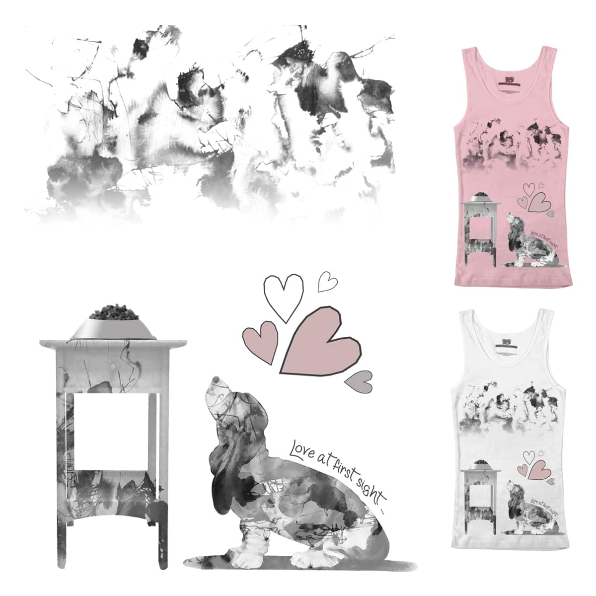 Love at first sight by AncikiLi on Threadless