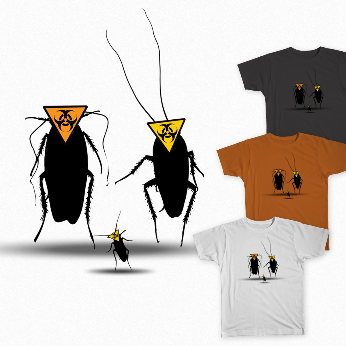 Biohazard bugs by artan.meta.3 on Threadless