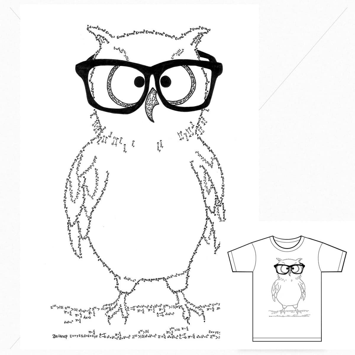 Whoo, whoo is a geek? by Cbad-Designs on Threadless