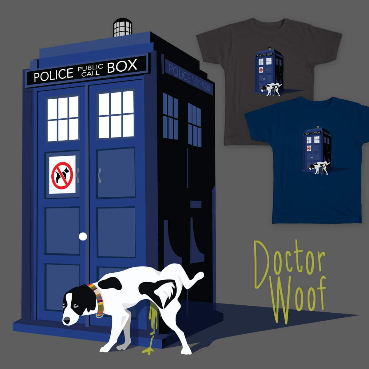 Doctor Woof by Hiphiphoera on Threadless