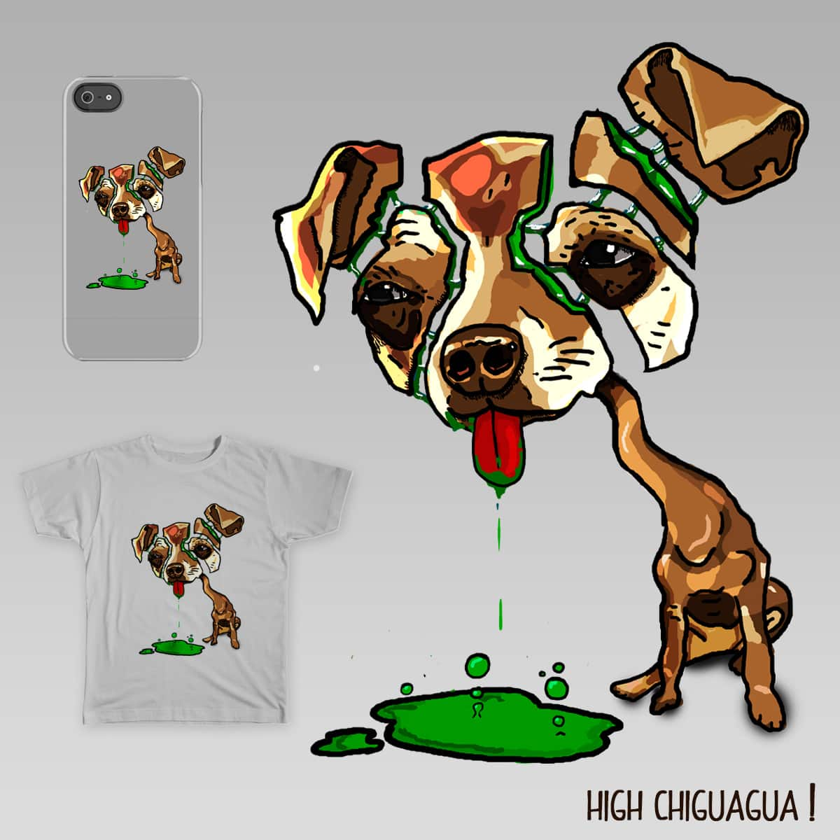 High Chiguagua by Larage on Threadless