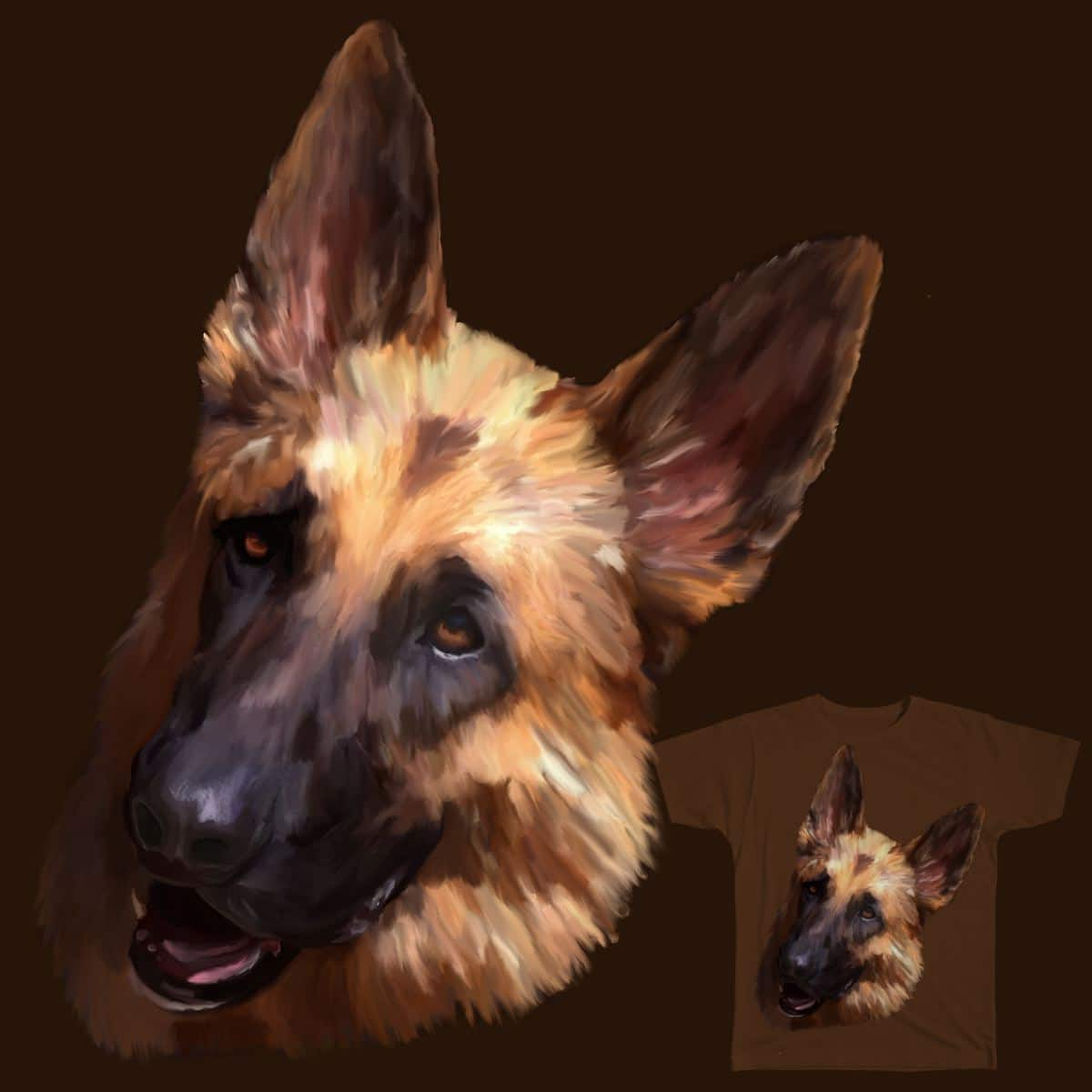 German Shepherd by Gottheart on Threadless