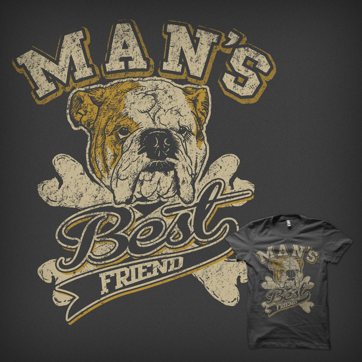 Man's Best Friend by Boy_Tinta on Threadless