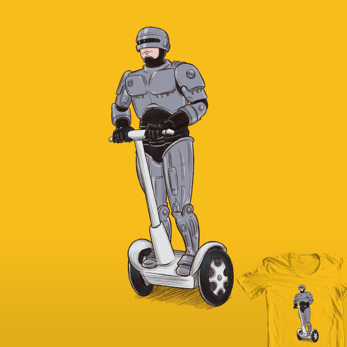 Segway RoboCop by Daviisilva and nintechno on Threadless