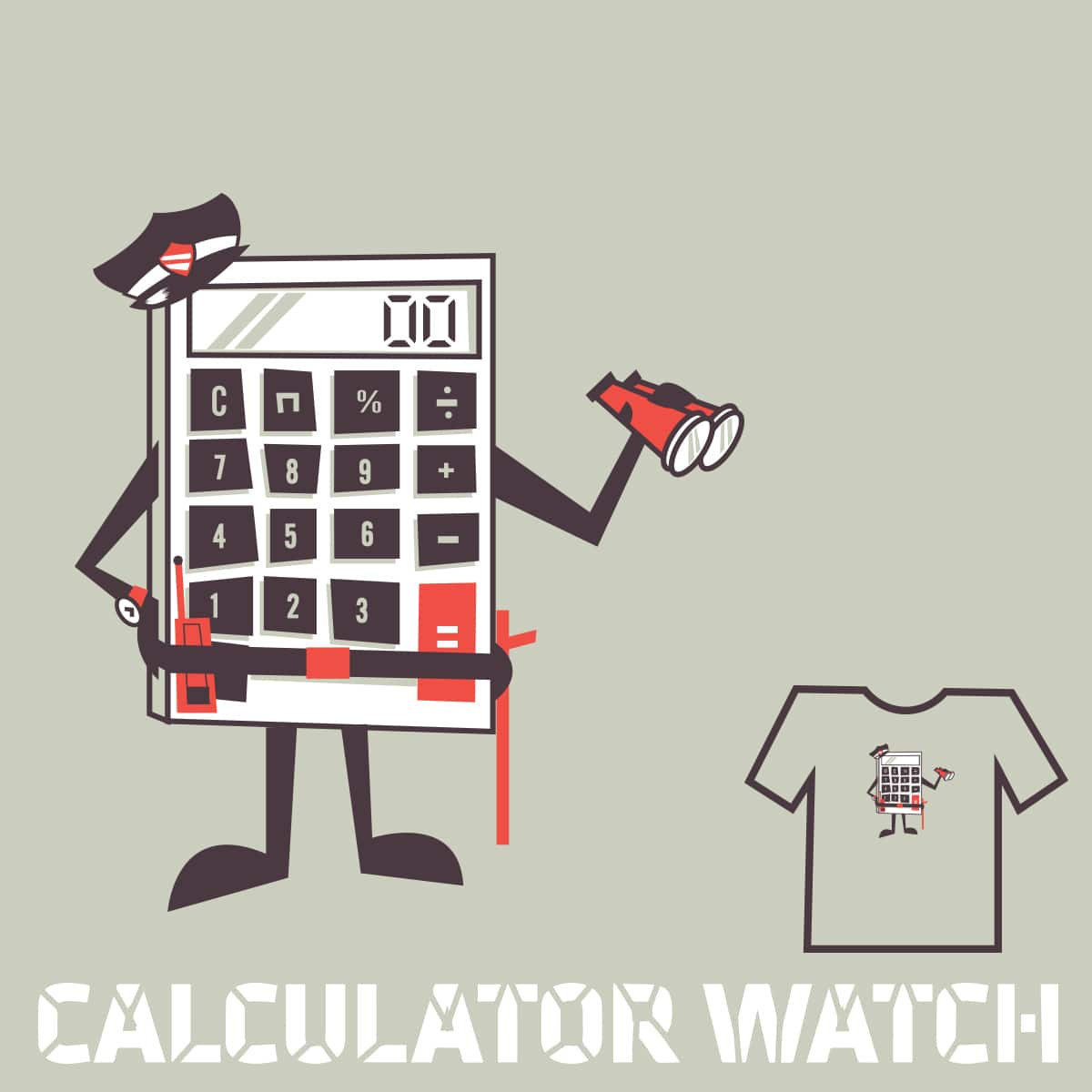 Calculator Watch by Ryder on Threadless