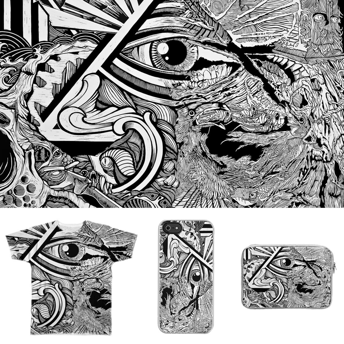 Artist Block by DaNkJiMz on Threadless