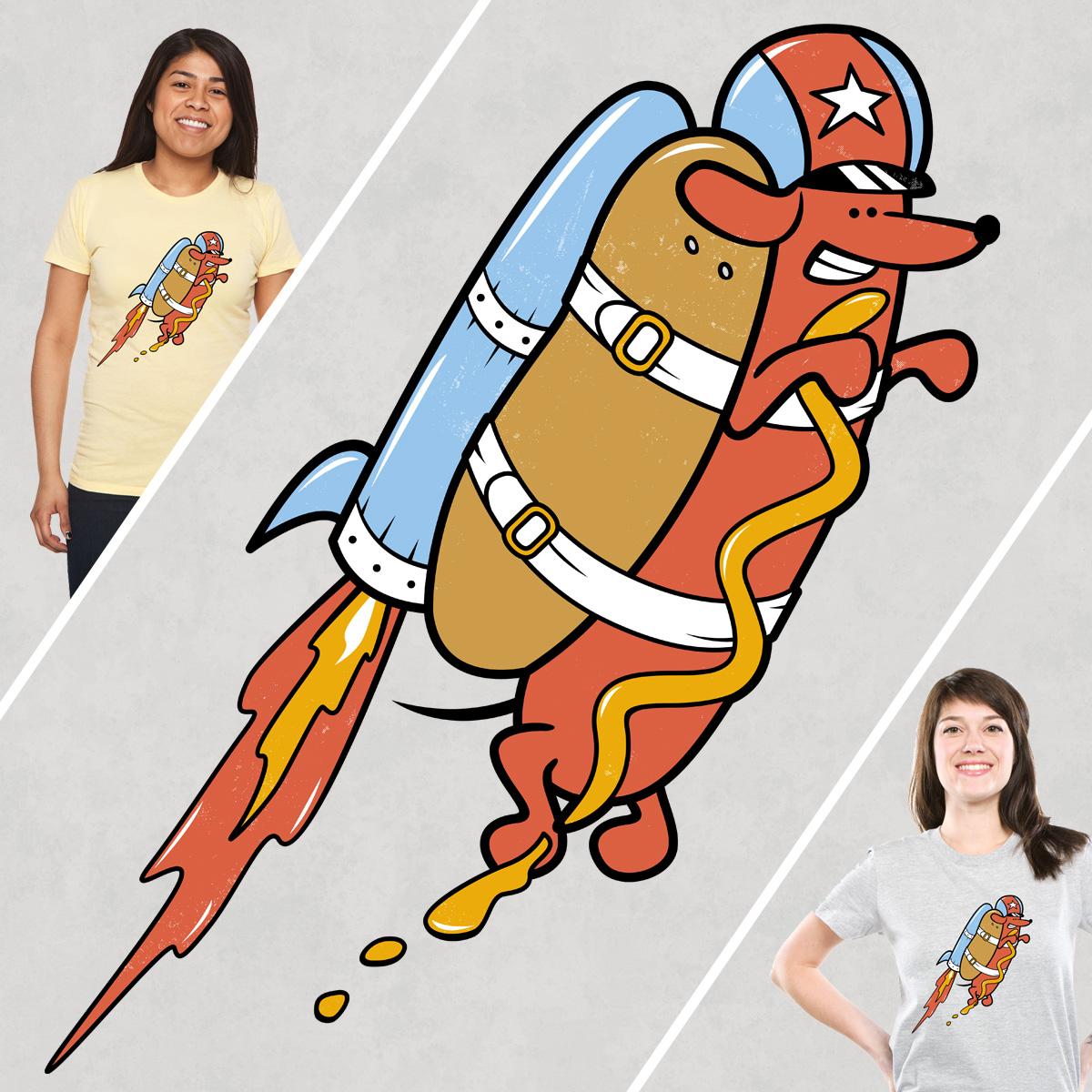 Rocket Wiener by Goto75 on Threadless