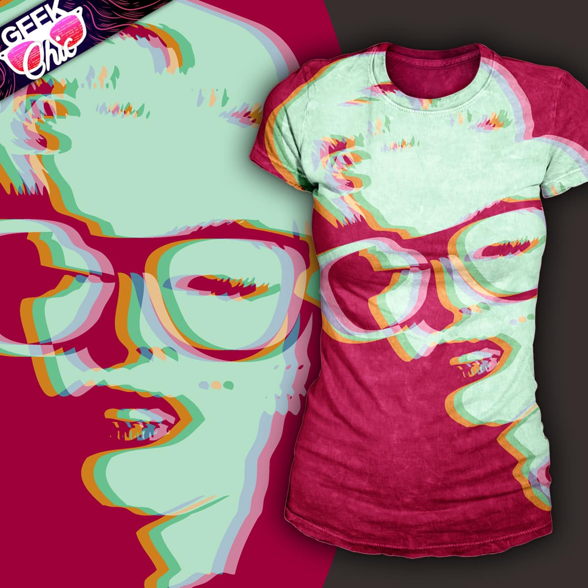 Geek Monroe by jolu27 on Threadless