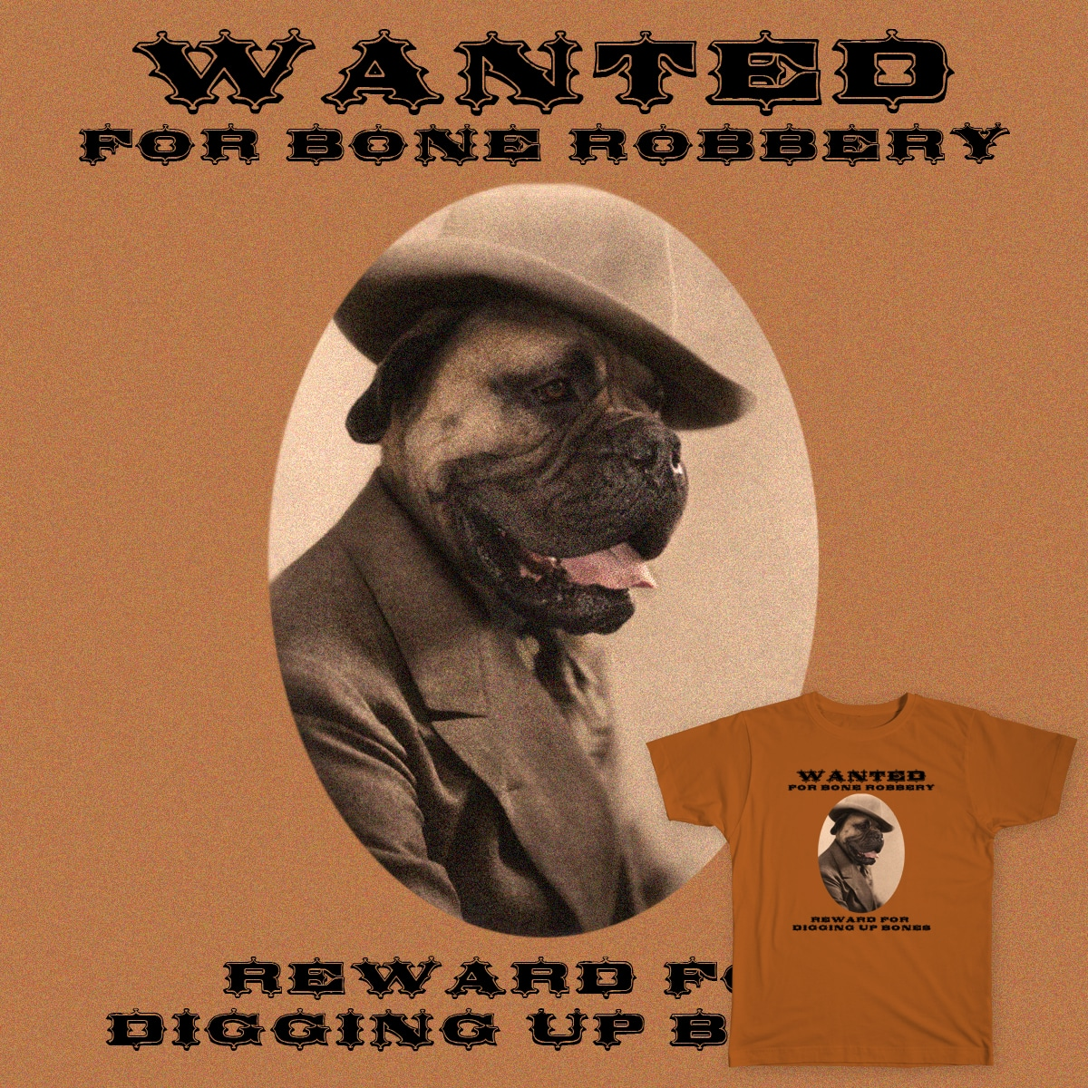 Wanted by Astrovix on Threadless