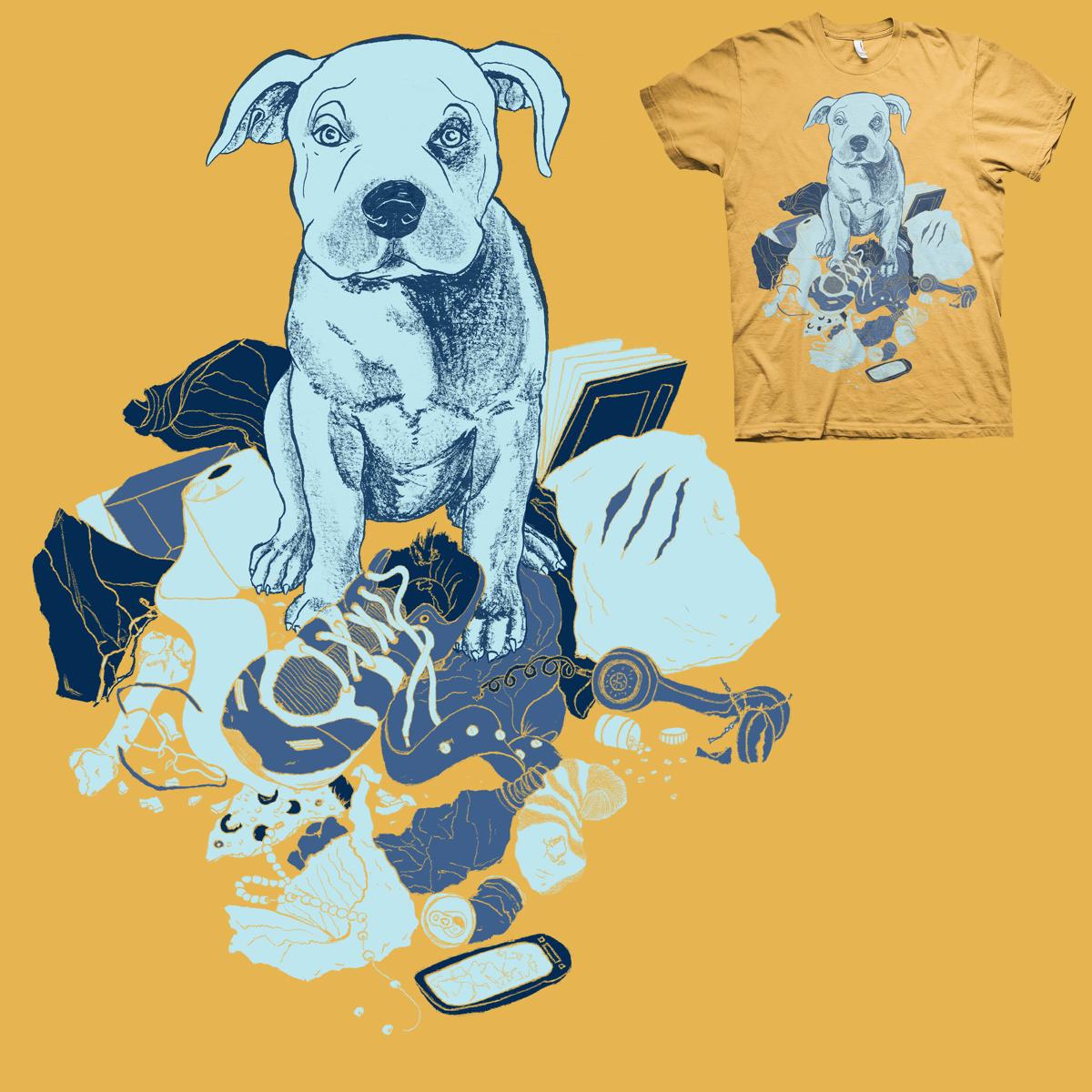 Sorry dog by Carol Martins on Threadless