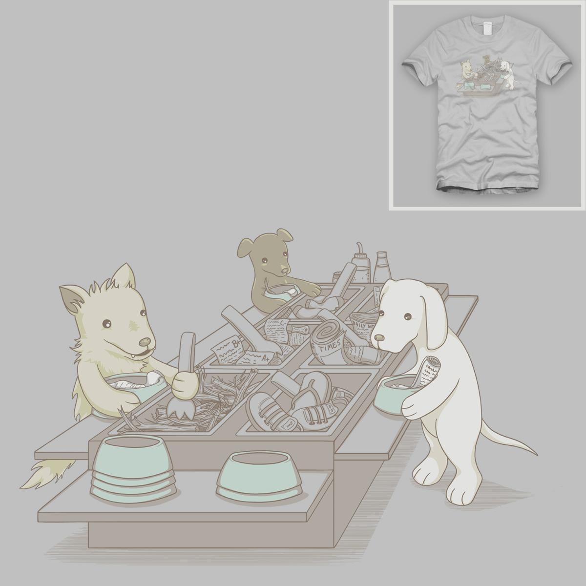 Dog Buffet by spookylili on Threadless