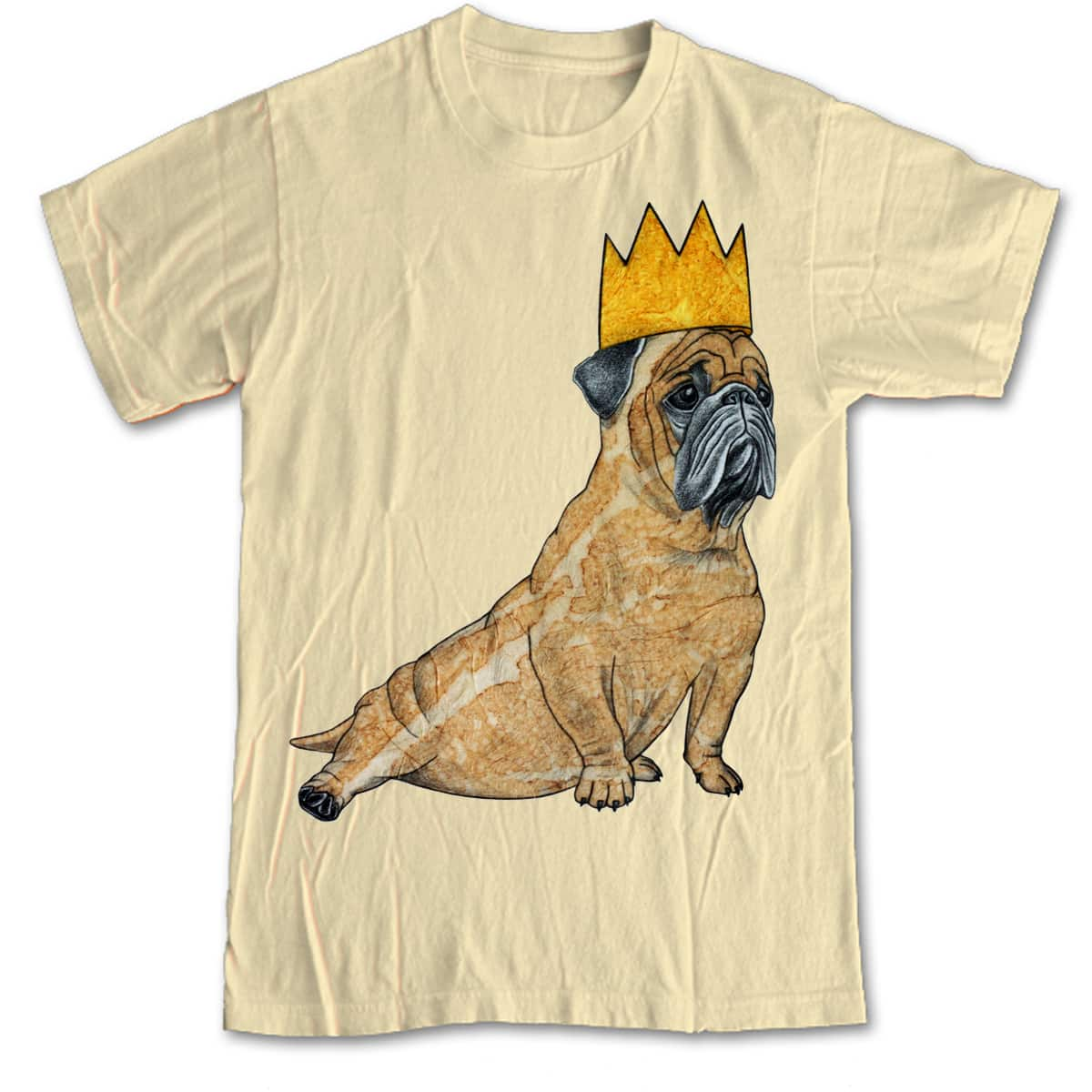 King Pug by NeatShirts on Threadless