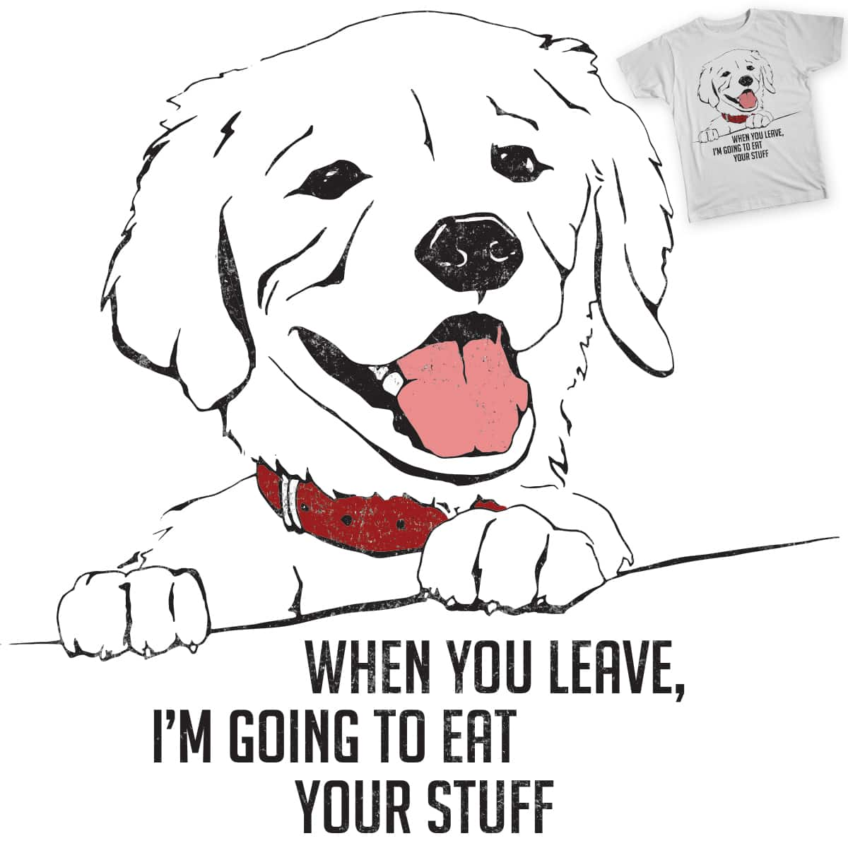 If Dogs Could Talk by mjacs on Threadless