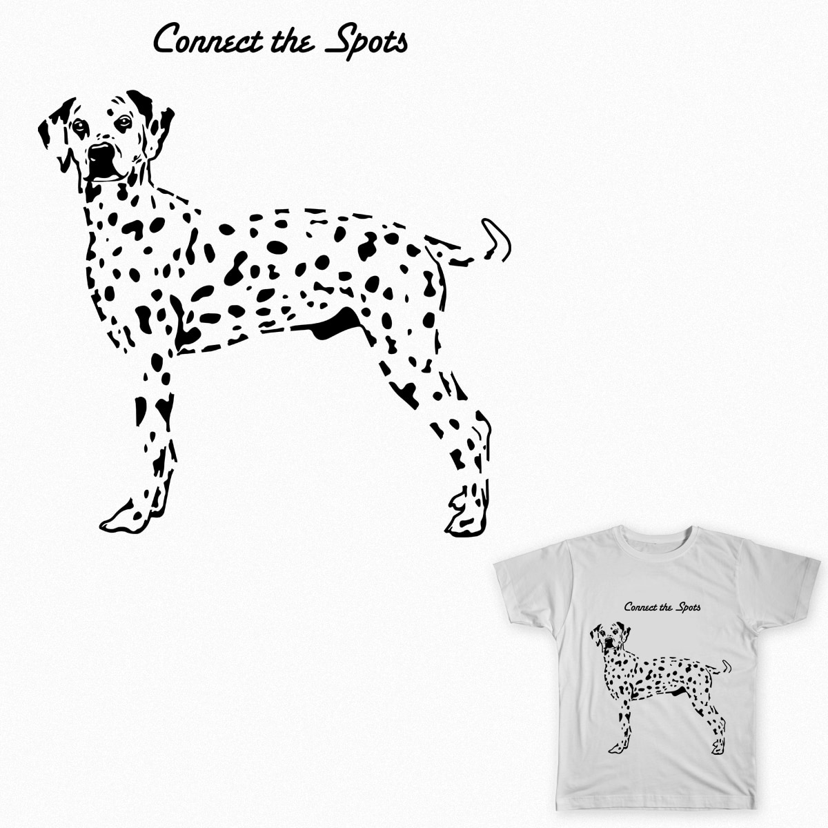 Connect the spots by jumbogiant21 on Threadless
