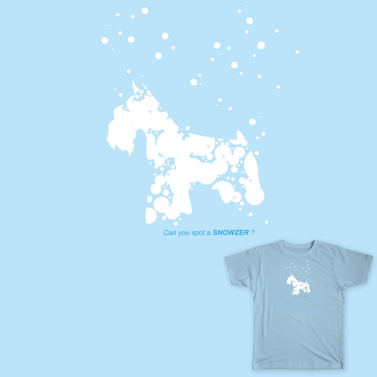 Can you spot a Schnauzer? by sansanlee on Threadless