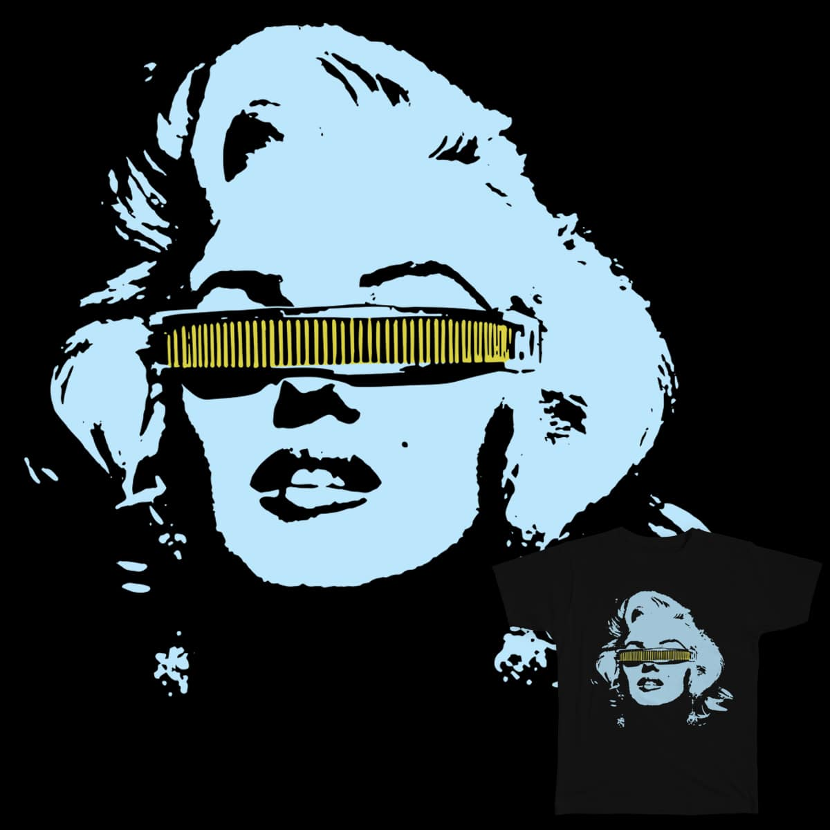 Marilyn La Forge by abalosie on Threadless
