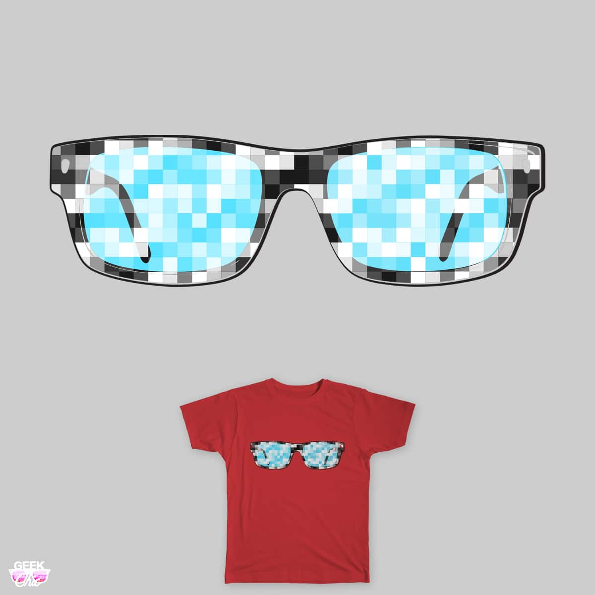 Pixeleted by yanmos on Threadless