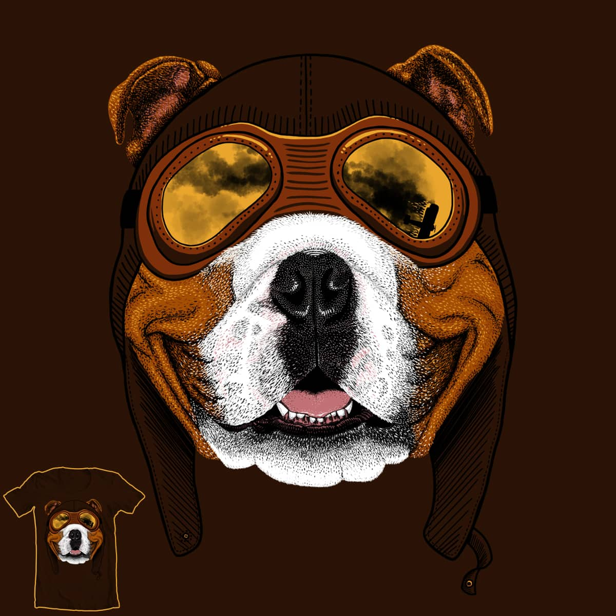 Dogfighter by sachpica on Threadless