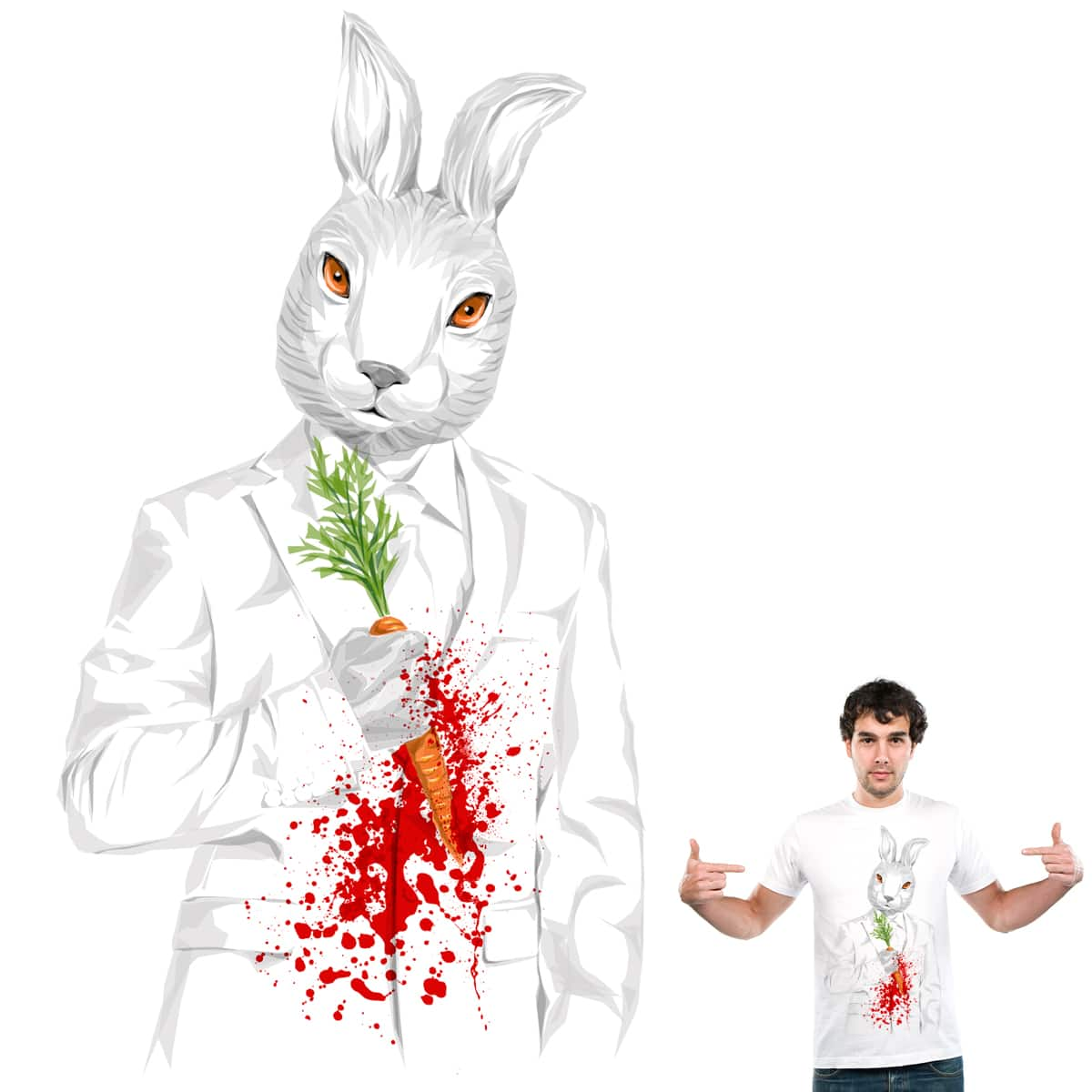 Blood Stain by Joe Conde and goliath72 on Threadless