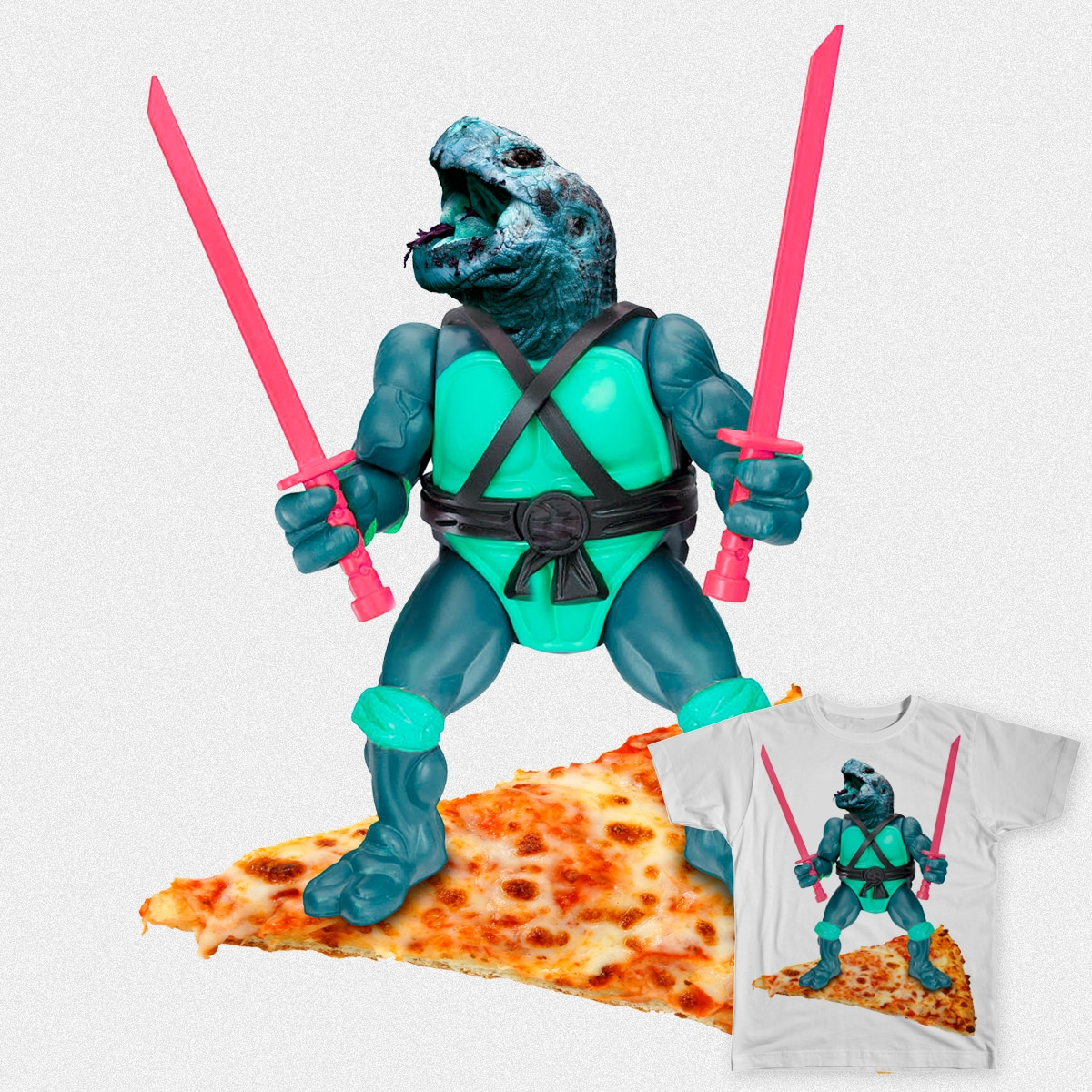 TMNT - PIZZA TIME by MRCLV and Mariana on Threadless
